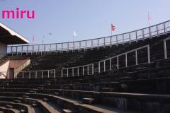 試合前の紀三井寺球場1