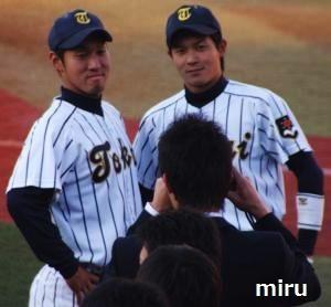 大野選手と市川選手