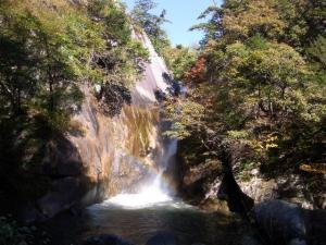 昇仙峡 仙娥滝 クリックで拡大