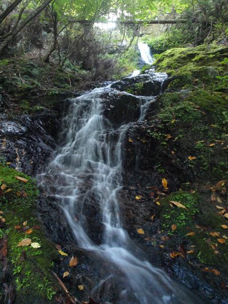まぼろしの滝 秋