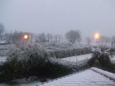 2010_1201雪の日&クリスマスの飾り付け01781