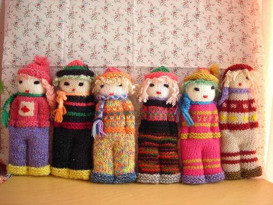 手編み人形1