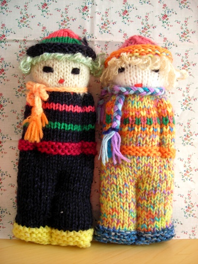 手編み人形2