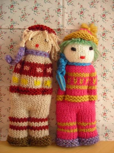 手編み人形3