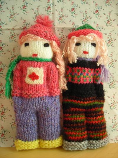 手編み人形4