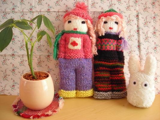 手編み人形5