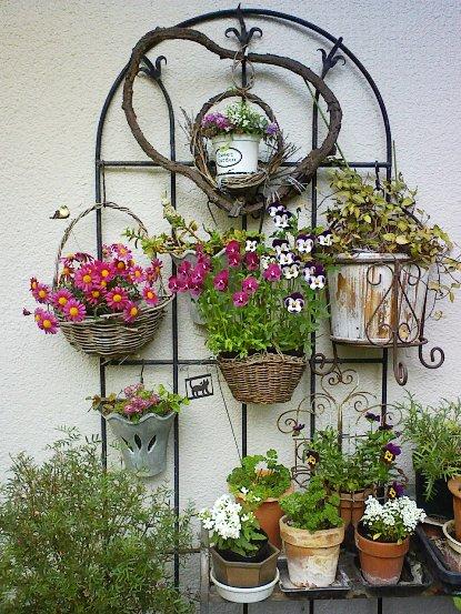 玄関のお花3
