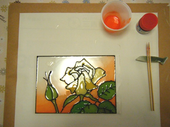 ガラスアート1