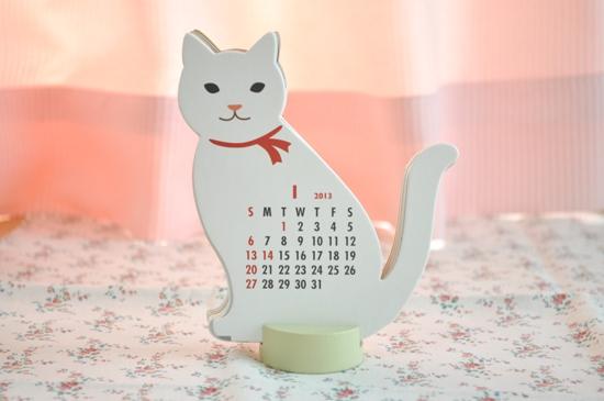 2013カレンダー1月