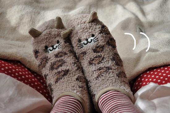にゃんこ靴下2