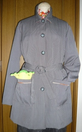 スプリングコート 着物