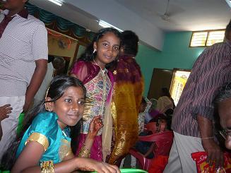 アヌーシャ結婚式2
