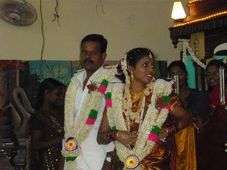 アヌーシャ結婚式3