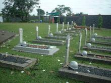 インドネシアカリバタ英雄墓地