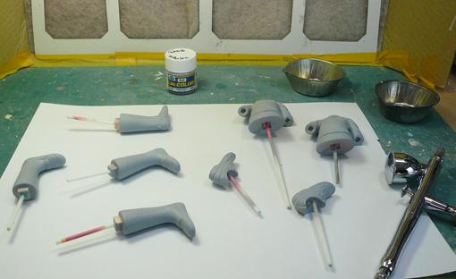 塗装開始1