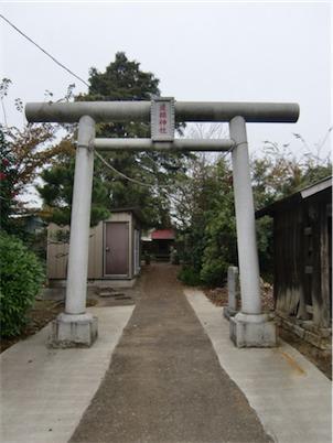 道祖神社・鳥居