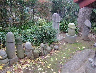 道祖神社・男根石