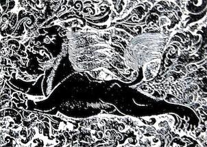 永泰公主墓石刻・牡丹獅子01