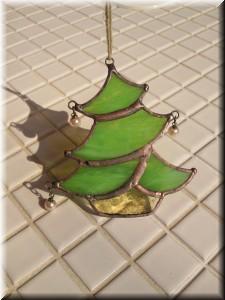 ステンドグラス_クリスマスツリー