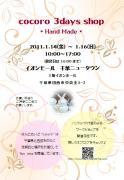 イベントフライヤー20110114