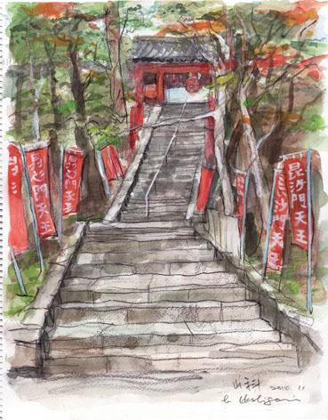 20141116 毘沙門寺