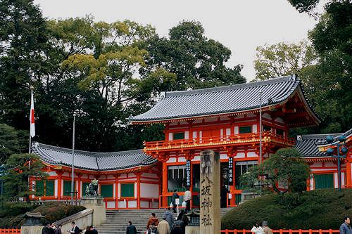 八坂神社a