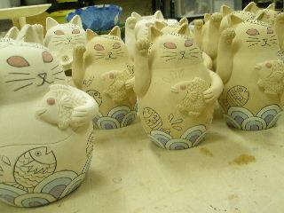 猫やのねこ すみ田理恵ブログ 陶芸 猫作家