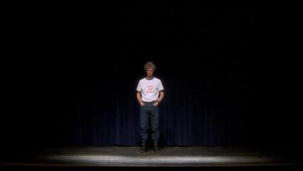 舞台に立つナポレオン