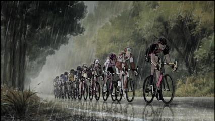 レース後半の逃げグループ