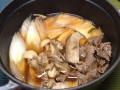 赤身肉牛丼風