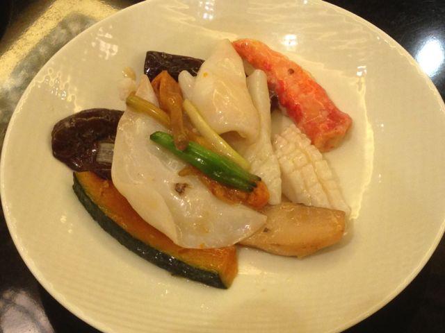 海鮮松茸炒め