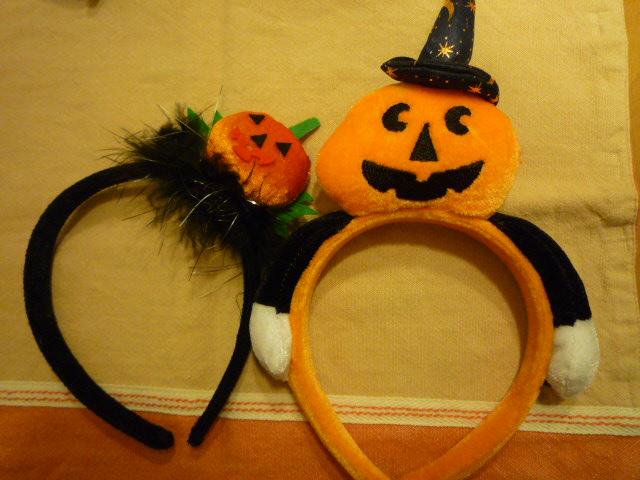 かぼちゃカチューシャ