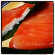 厚身鱒寿司