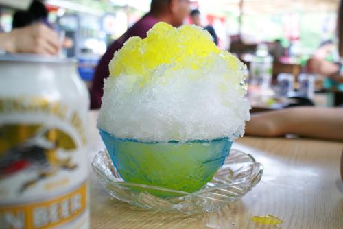 豊島屋 かき氷02