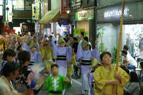 高円寺 阿波踊り02