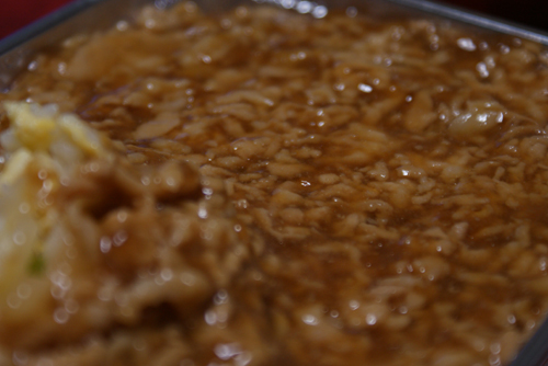 梁山泊の肉あんかけチャーハン