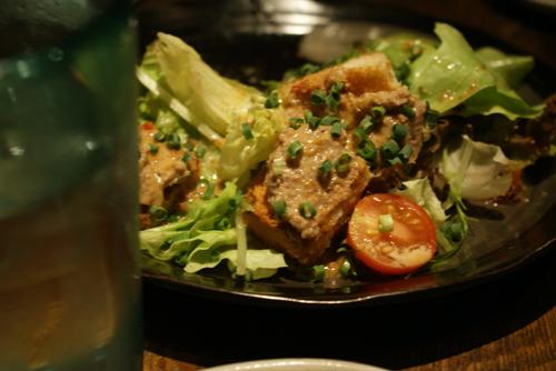 龍 サラダ