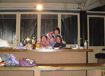 BBQ記念写真 タマの顔はどこ?
