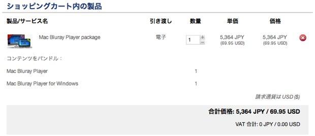 Macgo Inc. online store 値引き前