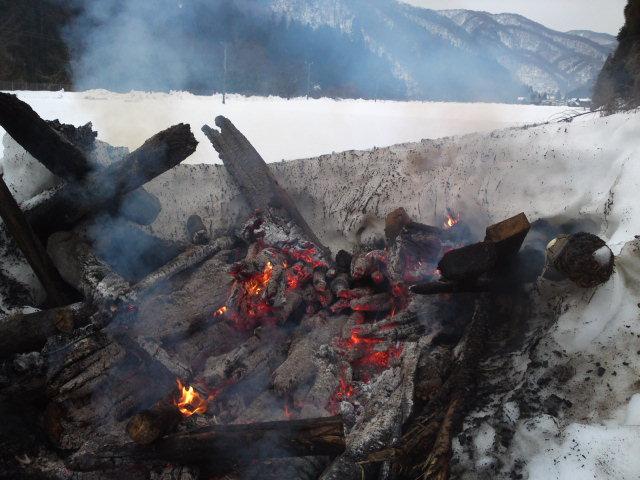 2012.1.21 焚き火