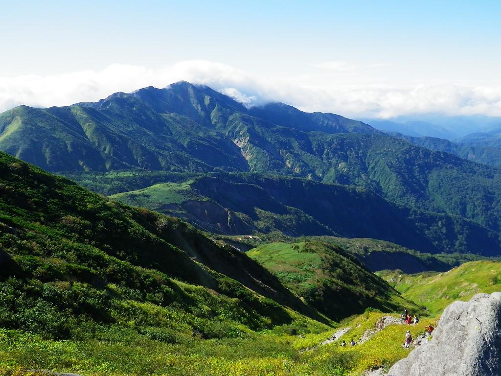 黒ボコ岩からの景色