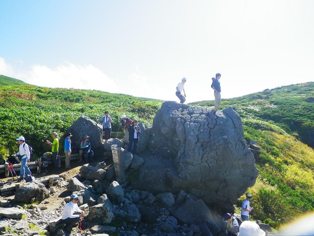 黒ボコ岩の人たち