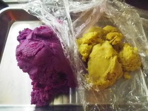 2011.11.2二種のお芋ペースト