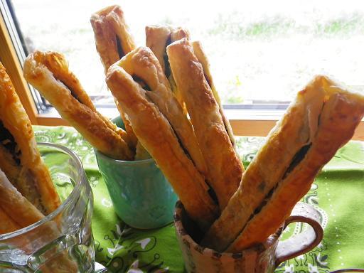 2011.11.2二種のお芋と黒豆のパイ