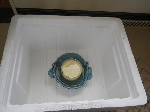2011.11.27 豆乳ヨーグルト1