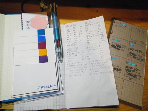 2012付箋とミニノート