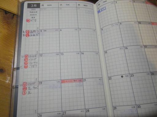 2012 畑の記録