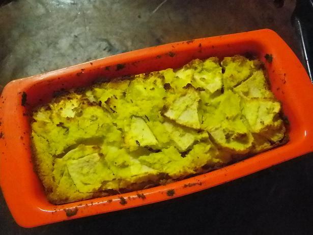 リンゴとさつま芋のおからケーキver.1a