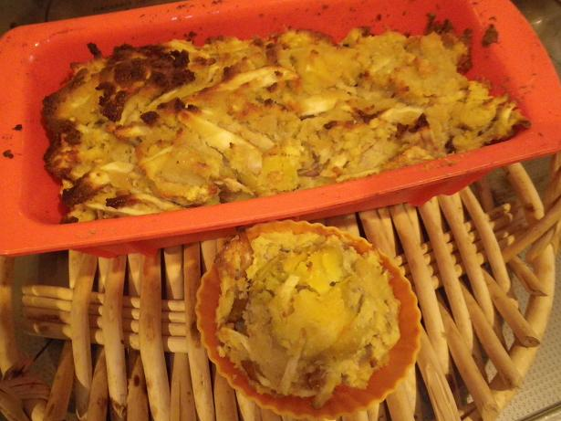 リンゴとさつま芋のおからケーキver.2a