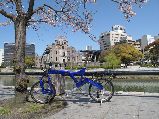 ドームと桜とBD3